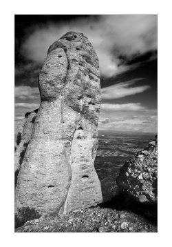 Cavall Bernat monolith at Montserrat