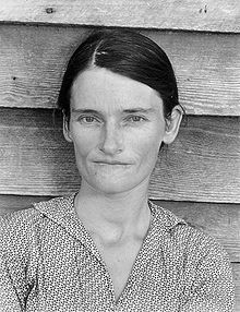 Allie Mae Burroughs. Copyright © by Walker Evans