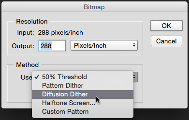BitmapDiffusionDither