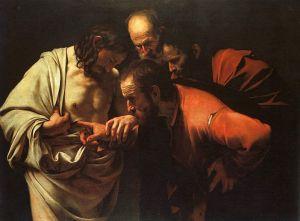 Caravaggio_TheIncredulityOfSaintThomas
