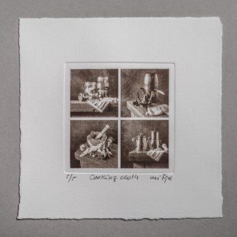 Cooking cloth - Plate 10x10cm
