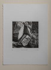 Boulder#7 - Plate 18x18cm - Paper 28x38cm