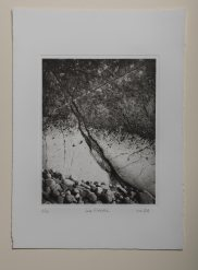 Low tide#1 - Plate 20x25cm - Paper 28x38cm